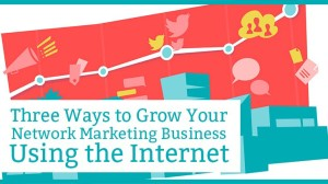 Three(3) Proven Ways to Grow Your Network Marketing Business, Using the Internet